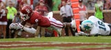 Photos: Sooners stay unbeaten with 56-14 win over Tulane