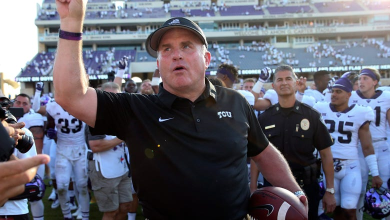 Purple shade: No. 8 TCU still lot of goals left on pyramid