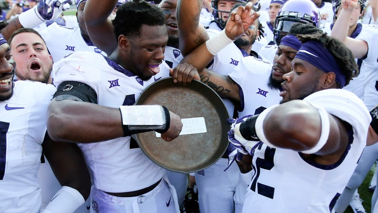 Frogs over Ponies: No. 20 TCU rallies for 56-36 win over SMU