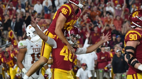 NCAA Football: Texas at Southern California