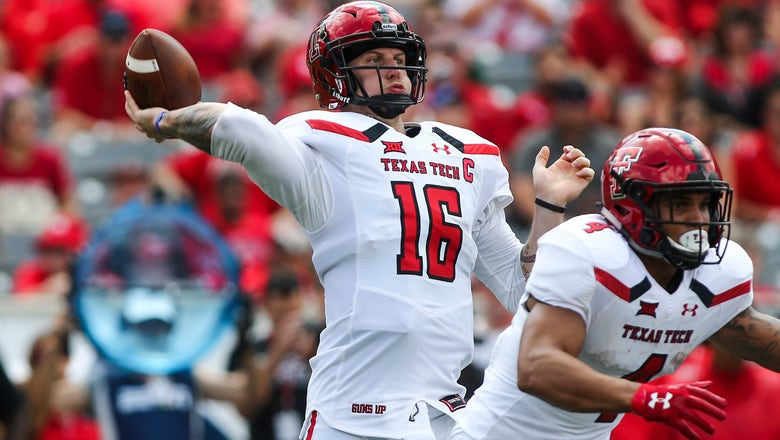 PHOTOS: Texas Tech get big road win over Houston 27-24