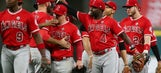 Valbuena, Upton help Angels end skid with 7-5 win over Astros