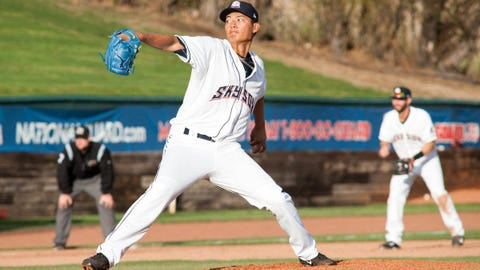 Wei-Chung Wang, LHP, Colorado Springs
