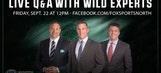 Preseason Q&A with FOX Sports North's Wild experts