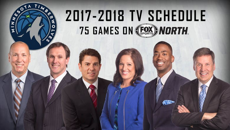 FOX Sports North, Wolves announce 2017-18 telecast schedule