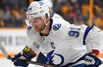 Lightning hoping Steven Stamkos' return can spark trip to postseason