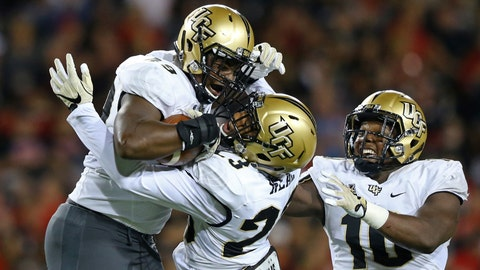 UC overwhelmed in rain-shortened loss to UCF