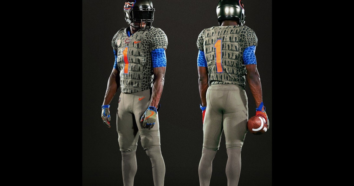 Florida To Rock Alligator Inspired Uniforms For Showdown