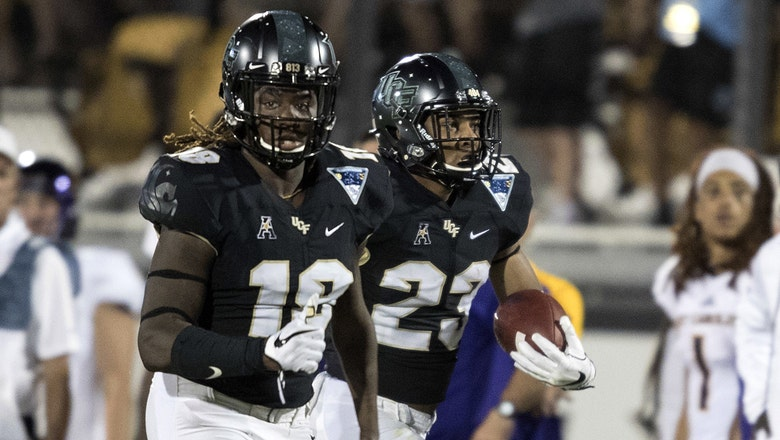 UCF continues offensive onslaught with dominating win over East Carolina
