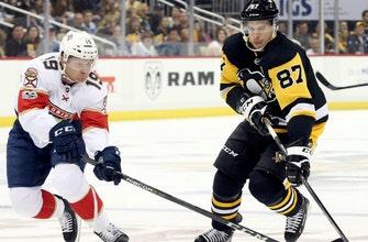 Panthers comeback falls short against defending champion Penguins