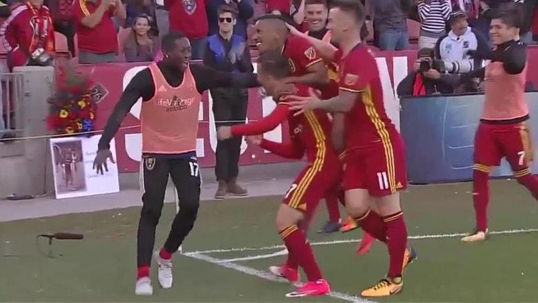 Real Salt Lake vs. Sporting Kansas City | 2017-18 MLS Highlights