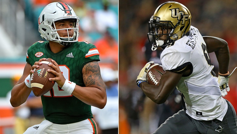 Miami jumps to No. 2 in CFB Playoff Rankings, while UCF fails to gain ground