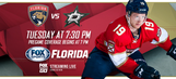 Preview: Panthers host Stars for quick one-game homestand