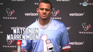 Deshaun Watson on Warren Moon | Texans Inside The Game