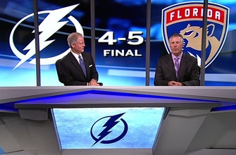 Lightning kick off three-game homestand against Capitals