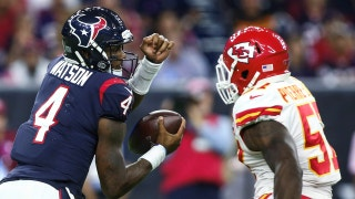 Cris Carter is convinced that the Texans finally have the QB position right