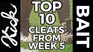 Kickbait: Top 10 NFL cleats from Week 5