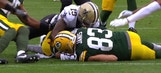 Dean Blandino says officials were right to throw a flag on this muffed punt in Green Bay