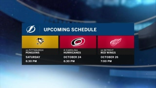 Lightning rolling right along as home showdown with Penguins awaits