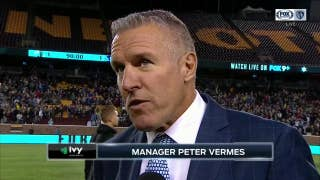 Peter Vermes: 'We had too many good chances at the end to not stick one away'