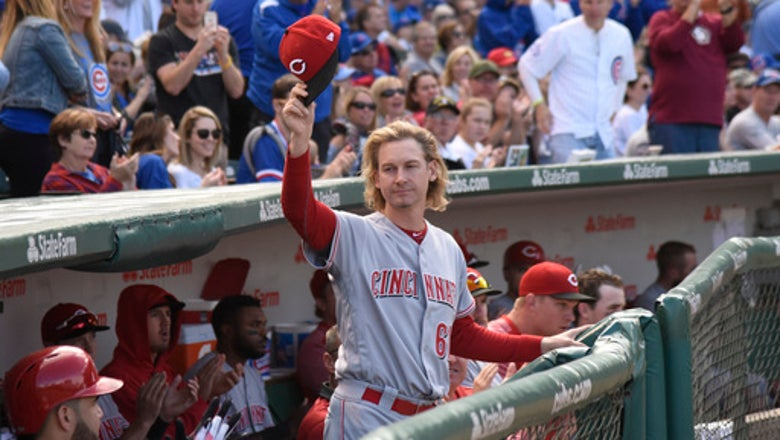 Playoff-bound Cubs lose 3-1 to Reds in finale