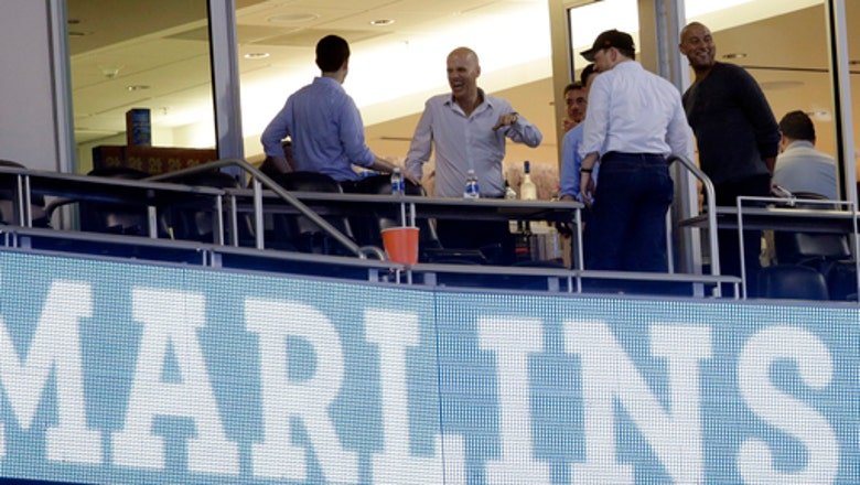 New Marlins owner Jeter mum on future of Stanton, Mattingly