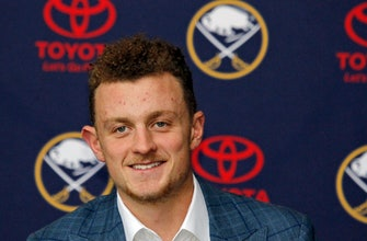 Eichel spurred by new deal to transform Sabres into winners