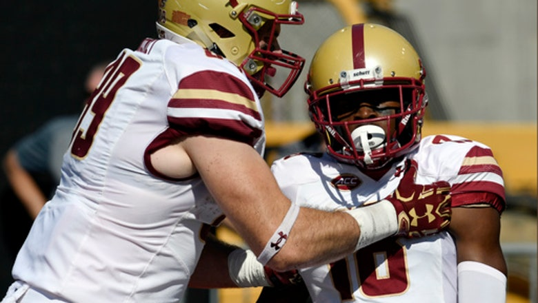 Boston College upsets Louisville 45-42 in shootout