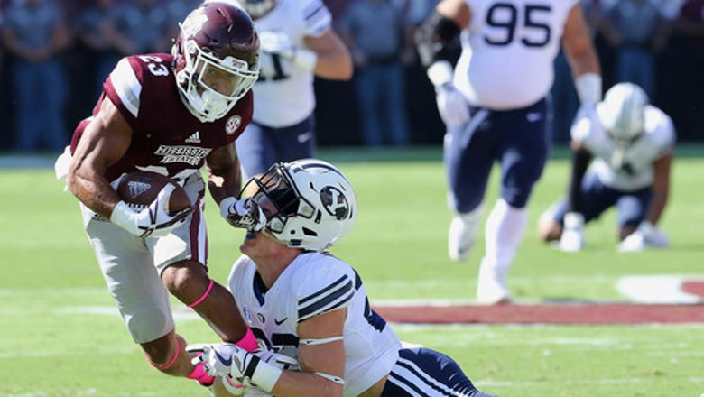 Fitzgerald has 4 TDs, Mississippi State tops BYU 35-10