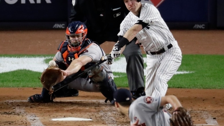 Astros out of sorts in 8-1 loss at Yanks, lead ALCS 2-1