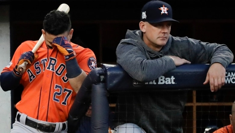 Bashed in the Bronx, Astros happy to head home