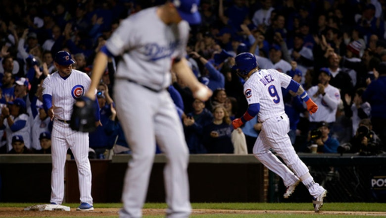 Wood gives up 3 homers as Dodgers lose 3-2 to Cubs in NLCS