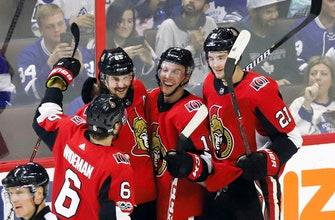 Brassard, Stone lead Senators to 6-3 win over Maple Leafs (Oct 21, 2017)