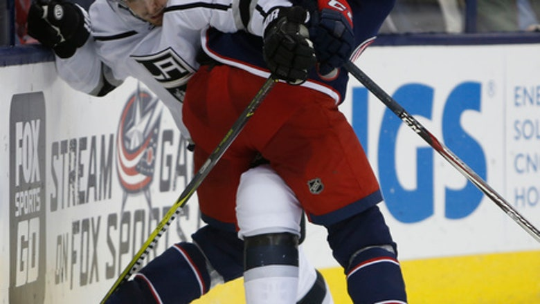 Kings top Blue Jackets 6-4 to remain unbeaten in regulation