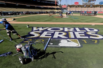 Baseball is hot! World Series opens in LA with high temps