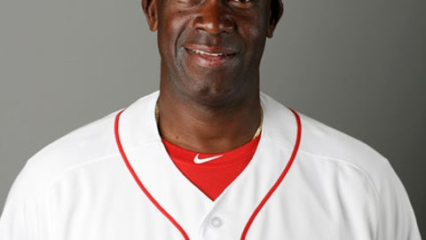This is a 2017 photo of Chili Davis of the Boston Red Sox baseball team. This image reflects the 2017 active roster as of Sunday, Feb. 19, 2017 when this image was taken. (AP Photo/David Goldman)