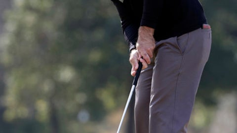 Armour enjoys rare 36-hole lead at PGA Tour tournament