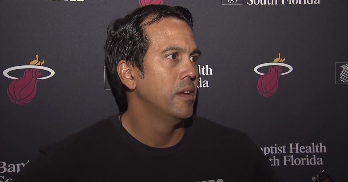 Erik Spoelstra on growth of young players, playing time to close out preseason (VIDEO)