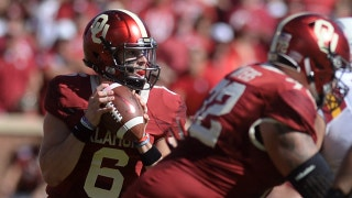 Baker Mayfield makes his 3 touchdowns in the first half against Iowa State look easy