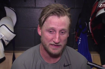 Lightning captain Steven Stamkos on recent injuries, getting ready for season