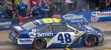 Here's why Jimmie Johnson wasn't penalized for pitting outside his box