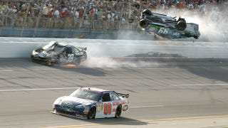 Talladega: The site of some of the wildest finishes in NASCAR history