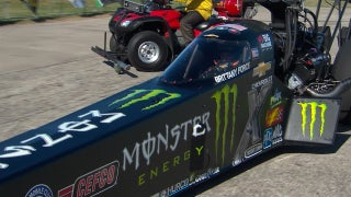 Brittany Force Wins Top Fuel Final at Dallas | 2017 NHRA DRAG RACING