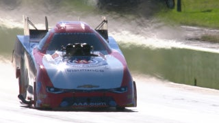 Robert Hight Wins Funny Car Final at Dallas | 2017 NHRA DRAG RACING