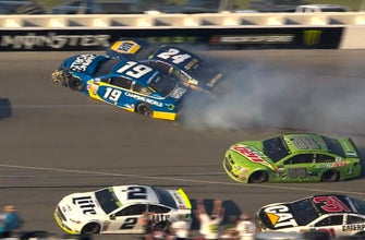 Dale Earnhardt Jr. says the wrecks at Talladega might have held him out the rest of the year