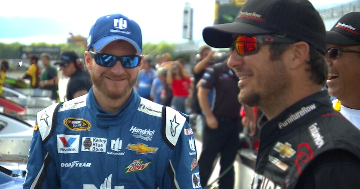 Martin Truex Jr. might be working on fishing boats if it wasn't for Dale Earnhardt Jr. (VIDEO)