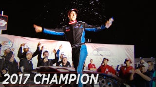 Austin Theriault wins championship at Kansas I 2017 ARCA RACING SERIES