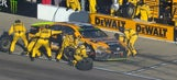 Matt Kenseth eliminated from the playoffs after being parked by NASCAR | 2017 KANSAS