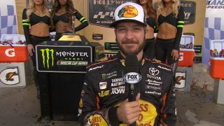 Martin Truex Jr. Post-Race Interview | 2017 KANSAS | NASCAR VICTORY LANE