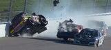 Breaking down the violent crash that took out Erik Jones and Daniel Suárez at Kansas